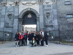 5th Year International Students - Medieval Mile Tour